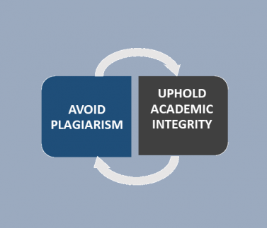 Avoid Plagiarism - Uphold Academic Integrity