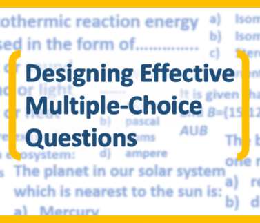 Feature Image- Designing Effective Multiple Choice Questions