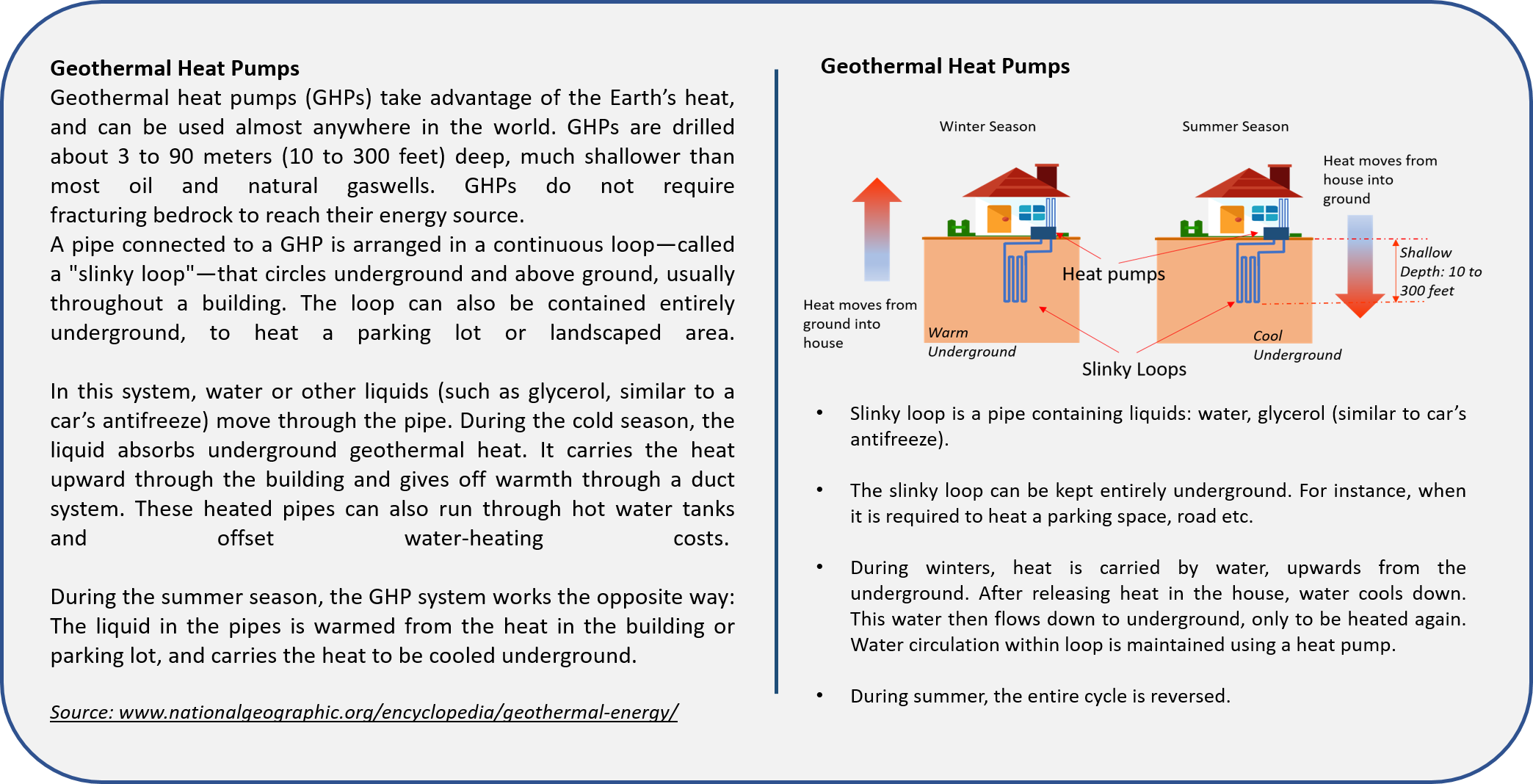 Visual learning Content in Geothermal Energy