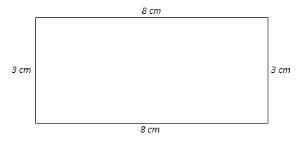 Calculate the area of a rectangle