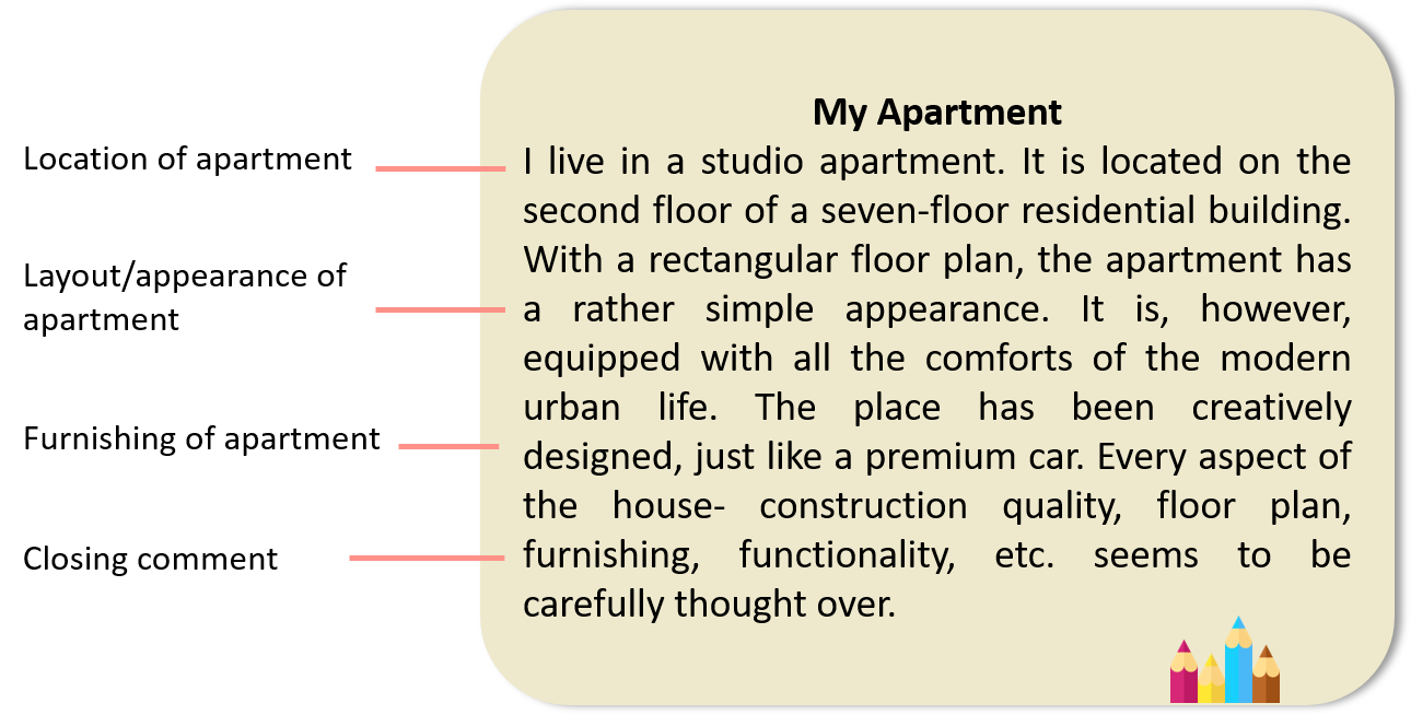 Descriptive Writing on an Apartment